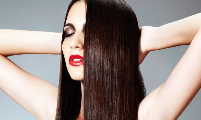 Salon Charisse - Haverford: Haircut with Conditioning or Express Keratin Treatment, or Express Keratin Treatment at Salon Charisse (Up to 62% Off)