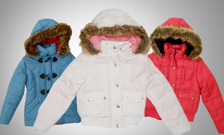 Dollhouse Girls' Bubble Jackets. Multiple Styles and Colors Available.