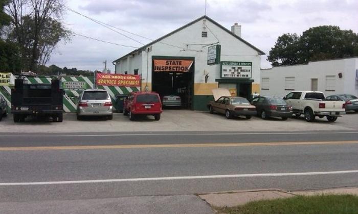 Shall-Martin Garage Inc. - Newtown: Auto Inspection and Emissions Test from Shall-Martin Garage Inc. (58% Off)