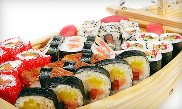 Sasu Sushi - New Territory: $10 for $20 Worth of Japanese Food at Sasu Sushi