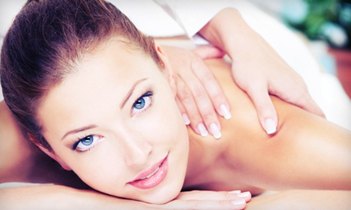 KM Skin & Body Solutions - Westlake Village: Spa Day with Facial, Brow Wax, Champagne, and Optional Massage at KM Skin & Body Solutions (Up to 63% Off)