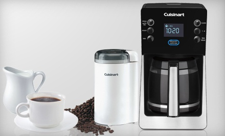 Cuisinart Coffee Maker Fire : USD 99 for a Cuisinart Coffeemaker and Grinder Groupon