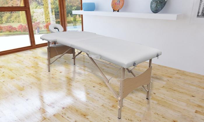 Wgr Trading: Table De Massage Pliante Professionnelle En Bois Ou En Alu Dès  99,