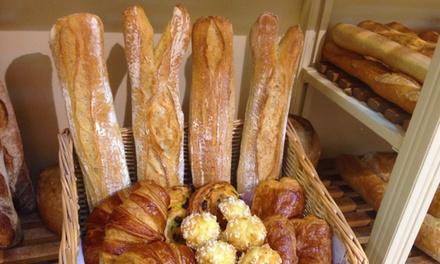 Un panier petit déjeuner gourmand pour 2, 4 ou 6 personnes dès 5 € à boulangerie et pâtisserieMaison Graulière