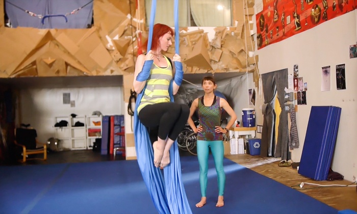 Featherpistol Fitness - Featherpistol Fitness: Four or Eight Aerial Fitness Classes at Featherpistol Fitness  (75% Off)