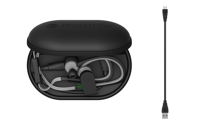 Mophie Battery Charger For Fitbit Flex Beats Jbl Wireless Earbuds Groupon