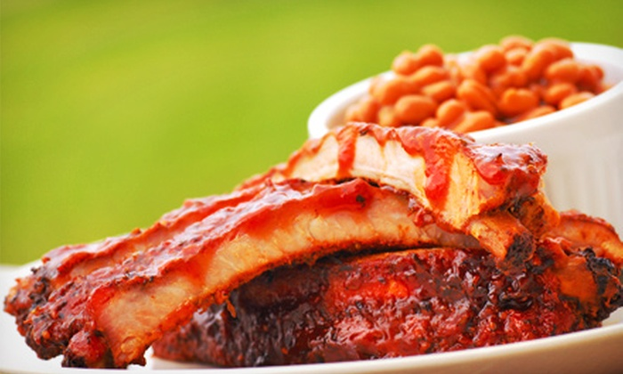 Kitchen Catering - North Bellmore: Barbecue, Clambake, or Buffet Catering Package for Up to 10 or 20 People from Kitchen Catering Corp. (Up to 58% Off)