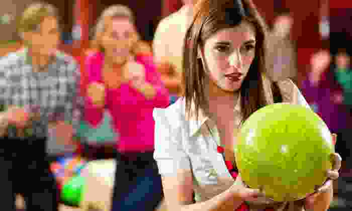 Bowl-O-Rama - Exeter: $25 for Bowling for Six with Shoe Rentals and Pitcher of Soda at Bowl-O-Rama (Up to $61.50 Value)