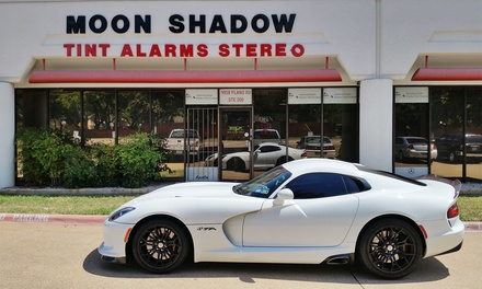 Window Tinting for a Full Car or a Two- or Four-Door Car at MoonShadow Window Tinting (Up to 65% Off)