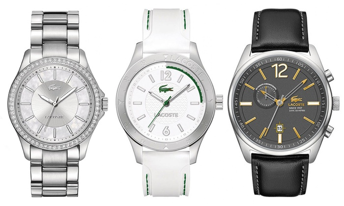 cc1a8591aa Montres Lacoste Homme & Femme | Groupon Shopping