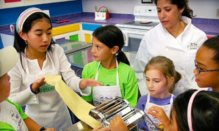Young Chefs Academy Frisco - Preston Trace Center: Kids' and Teens' Cooking Class for One or Two at Young Chefs Academy Frisco (Up to Half Off)