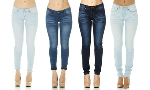 Women's Cover Girl Basic Skinny Jeans (Plus Sizes Available)
