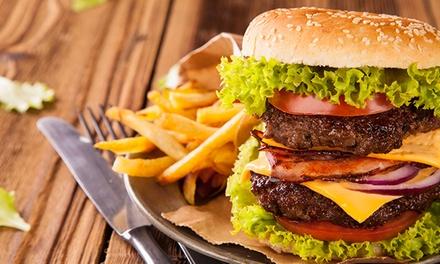 400 g burger mit beilagen waldkauz groupon. Black Bedroom Furniture Sets. Home Design Ideas