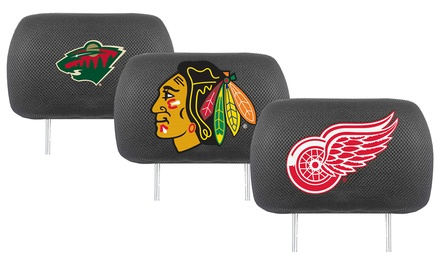 NHL Car Headrest Covers (2-Pack)