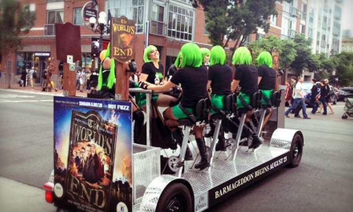 City Cruiser - East Village: Pub-Crawl Bike Tour for Up to Two, Four, or Six from City Cruiser (Up to 52% Off)