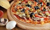 Bassanos Pizzeria - Springfield: Pizza and Italian Fare and Drinks at Bassanos Pizzeria in Johns Creek (Up to 52% Off). Two Options Available.
