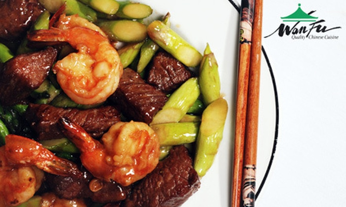 Wan Fu Quality Chinese Cuisine - Pineville: Chinese Cuisine for Lunch or Dinner at Wan Fu Quality Chinese Cuisine (Up to 52% Off)