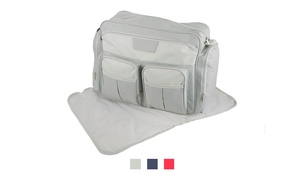 Diaper Sling Bag with Changing Mat