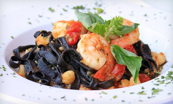 Via Veneto Ristorante Italiano - North Park: Upscale Italian Cuisine and Drinks for Lunch or Dinner at Via Veneto Ristorante Italiano (Half Off)