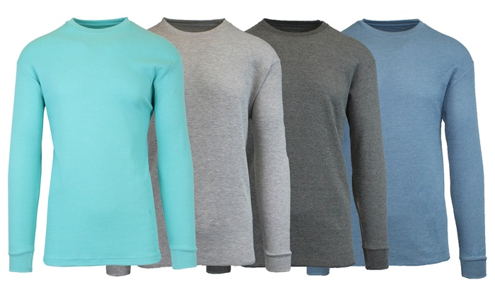 XL Fruit of the Loom Mens 4Pack White Crew-Neck Undershirts Cotton T-Shirts
