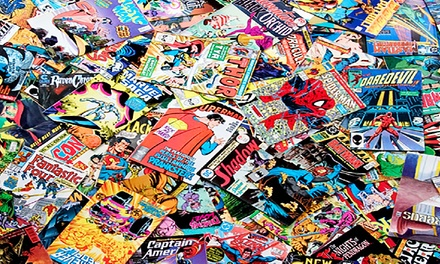 $39 for 50–75 Classic Comic Books and 100 Vintage Baseball Cards from Comic Book Headquarters ($550 Value)