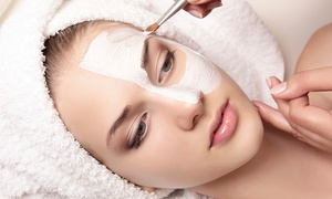 Euphoria Spa and Salon: One or Three Custom Facials with Brow Waxes at Euphoria Spa and Salon (Up to 42% Off)