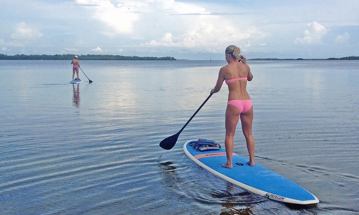 Kayak Valet - Multiple Locations: $39 for a Two-Hour Rental of Two Paddleboards for Two People at Kayak Valet ($80 Value)