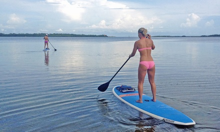 $39 for a Two-Hour Rental of Two Standup Paddleboards for Two at Kayak Valet ($80 Value)