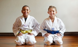 Taekwondo: Five, Ten, or One Month of Unlimited Classes with Uniform at Taekwondo (Up to 87% Off)