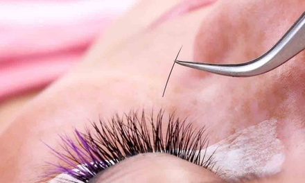 $105 for Full Set of Mink Eyelash Extensions ($215 Value) from Glam I'Lashes