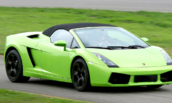 Xtreme Adventures - Sleep Train Amphitheatre- San Diego: $119 for a Exotic Vehicle Driving Experience in a Lamborghini or Ferrari from Xtreme Adventures ($249 Value)