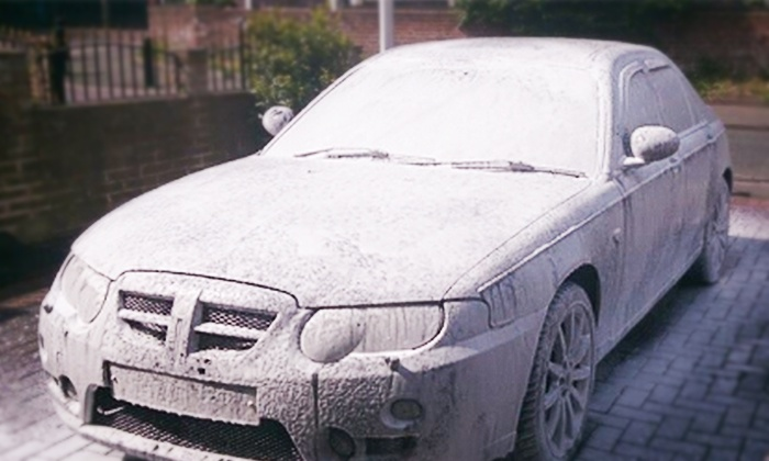Snow Foams Mobile Car Spa - Downtown San Jose: $69 for Full Mobile Car Wash and Detail from Snow Foams Mobile Car Spa $289