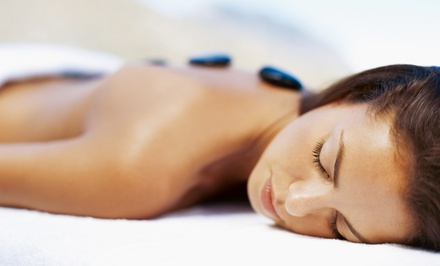 75-Minute Hot-Rock or Bamboo Massage at Cloud Nine Massage (Up to 50% Off)
