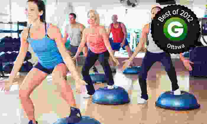 The Athletic Club - Ottawa: C$67 for a One-Month Gym Membership at The Athletic Club (C$134 Value)