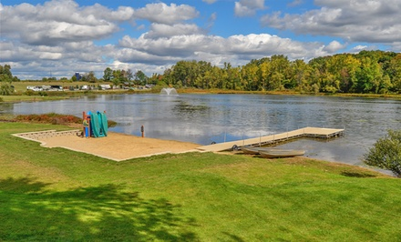 2- or 7-Night Stay at a Campsite or in a Cottage at Hidden Ridge RV Resort in Hopkins, MI