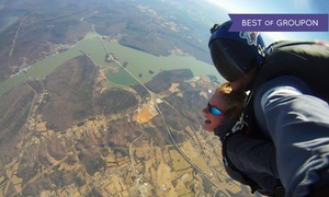 Chattanooga Skydiving Company: Tandem Skydive with Digital Video for One or Two from Chattanooga Skydiving Company (Up to 50% Off)