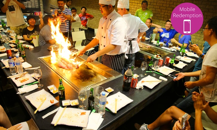 Fire Up 4 Course Teppanyaki Akita Teppanyaki Groupon