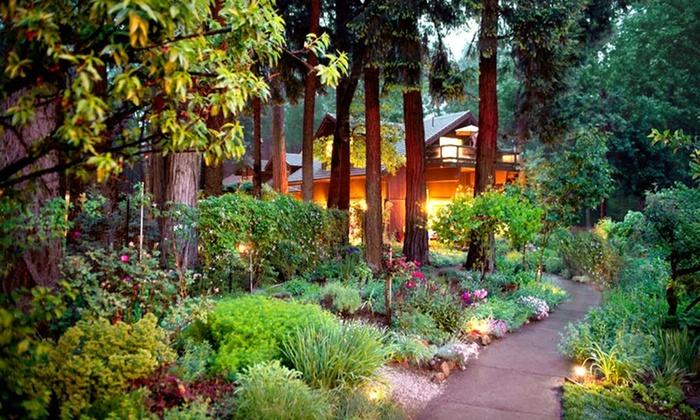 Harmony Ridge Lodge - Nevada City, CA: 2-Night Stay for Two, at Harmony Ridge Lodge in Nevada City, CA. Valid for Sunday–Wednesday Check-In.