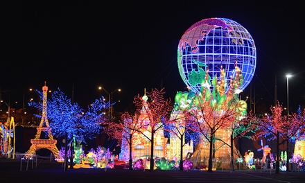 Holiday Theme-Park Visit with Unlimited Rides for Two or Four at Global Winter Wonderland (49% Off)
