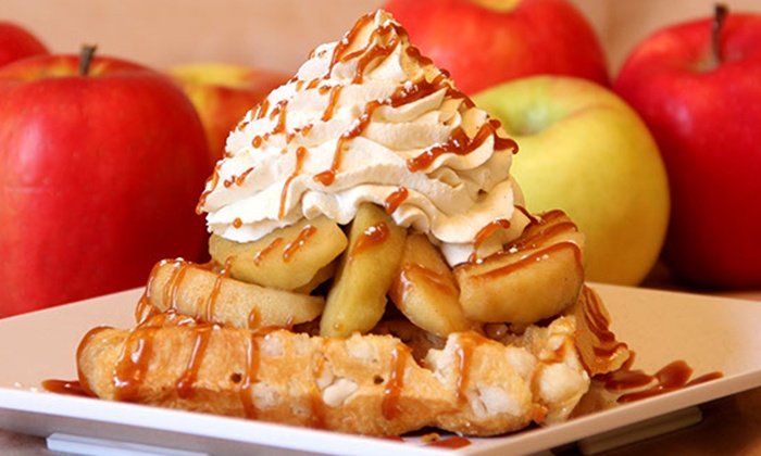 Ellie's - University Heights: Belgian Waffles, Ice Cream, and Coffee, or a Party at Ellie's (Up to 50% Off)