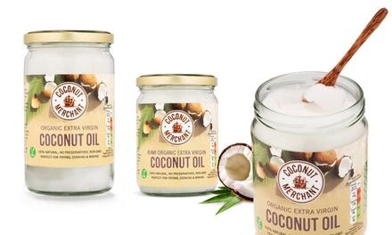 500 ml ou 1 L d'huile de noix de coco bio, Coconut Merchant® dès 11,90 €