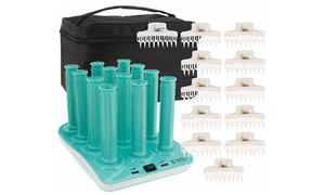 Calista Hot Waivers Long Hair-Roller Set (26-Piece) at Calista Hot Waivers Long Hair-Roller Set (26-Piece), plus 6.0% Cash Back from Ebates.