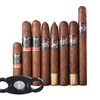 Famous Smoke Holiday Cheer Cigar Sampler With Cutter (9-Piece)