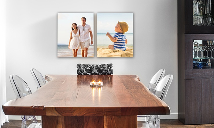 "Canvas People: $10 for 11""x14"" Canvas Portrait from Canvas People ($69.99 Value)"