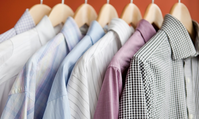 Demetri's Valet - Levittown: Dry-Cleaning Services from Demetri's Valet in Levittown (Up to 50% Off). Two Options Available.