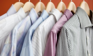 Demetri's Valet: Dry-Cleaning Services from Demetri's Valet in Levittown (Up to 50% Off). Two Options Available.