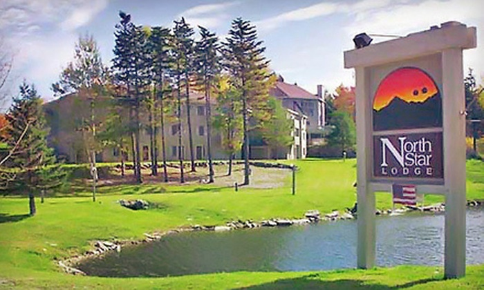 North Star Lodge - Killington: One- or Two-Night Stay with Lobster Dinner and Mini Golf for Two at North Star Lodge in Killington (Up to 57% Off)