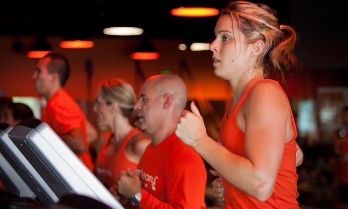 Orangetheory Fitness - Multiple Locations: $69 for a One-Month Orange Premier Studio Membership at Orangetheory Fitness ($159 Value)