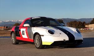 PRESTIGE GT: Curso de conducción drift en un Posche Boxster Cup con 4 o 9 vueltas en circuito desde 49 €