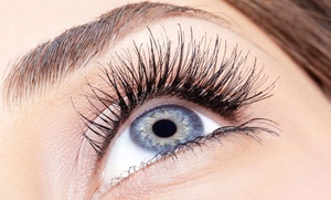 Amy's Beauty Salon: Eyebrow Tinting, Eyelash Extensions, or Both at Amy's Beauty Salon (Up to 51% Off)
